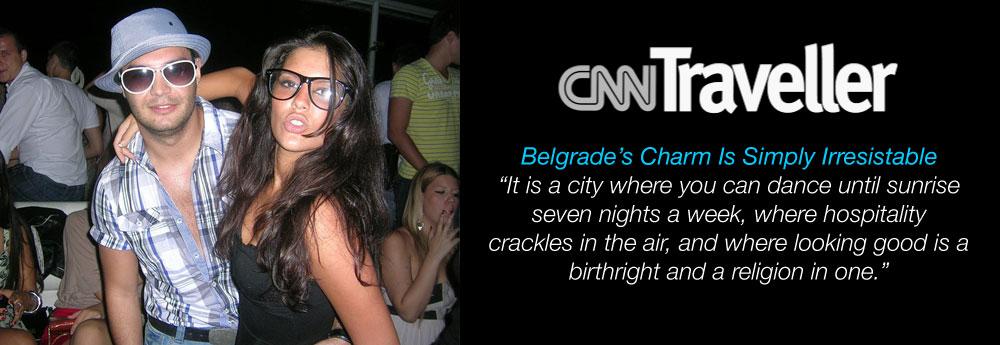 cnn traveler on belgrade