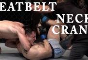 Seatbelt neck crank