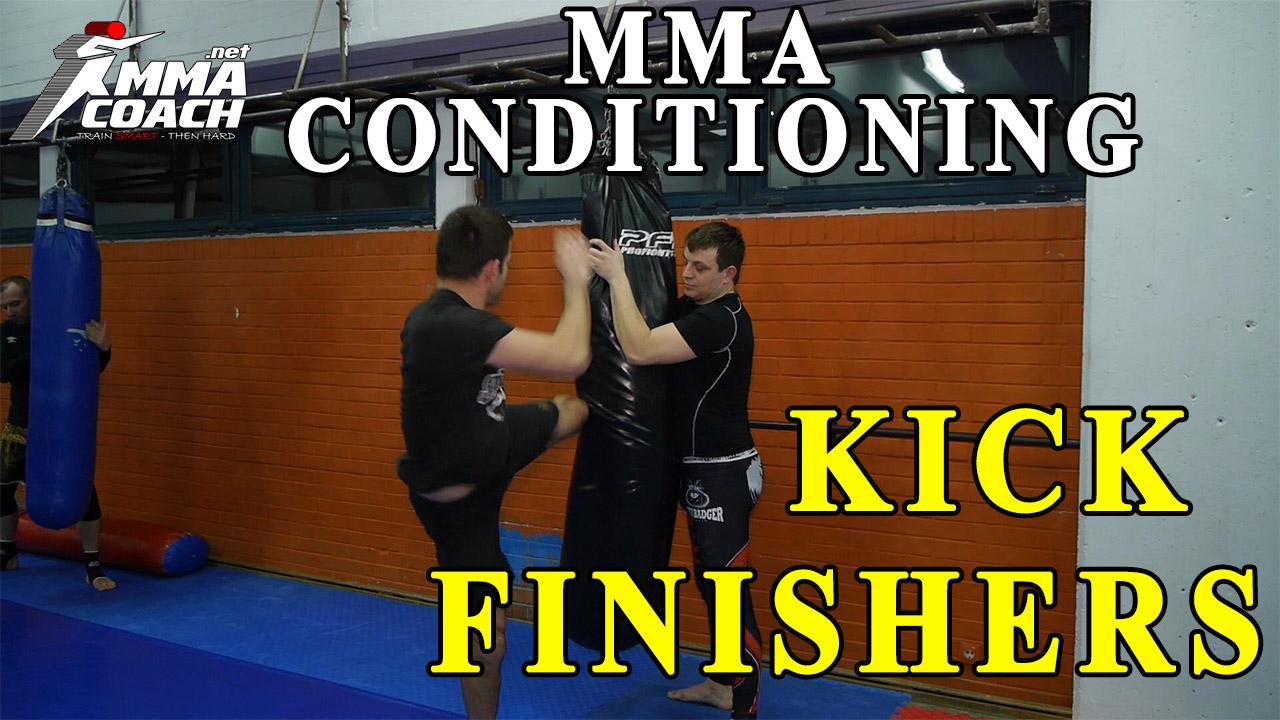 MMA conditioning – kick finishers