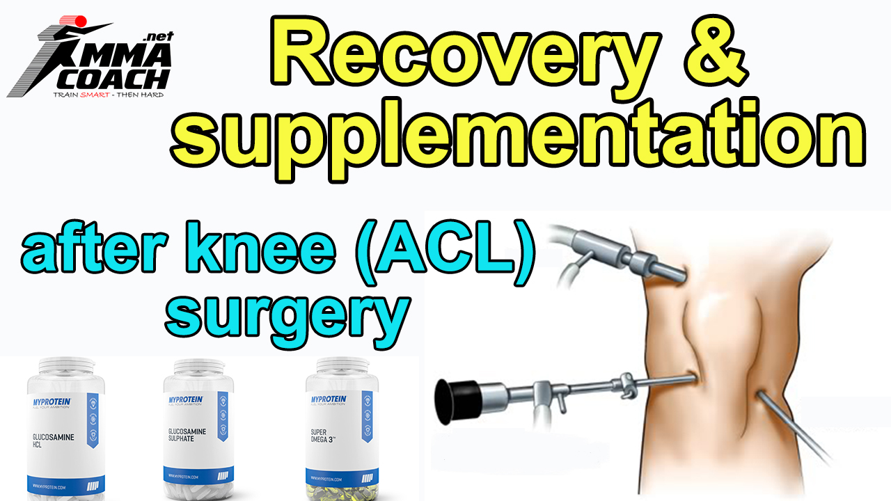 Recovery and supplementation after an knee ACL surgery