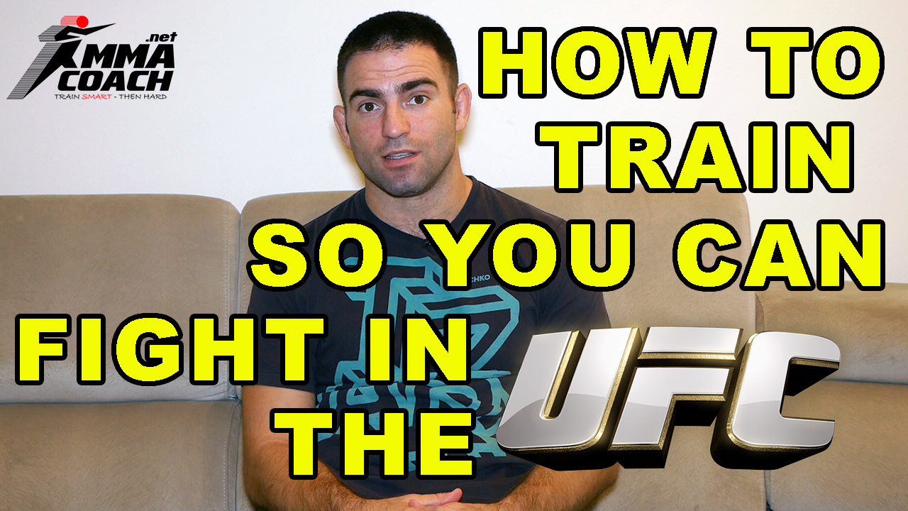 How To Train So You Can Fight In The UFC