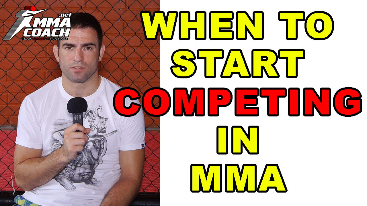 When To Start Competing In MMA?